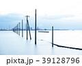 江川海岸 電柱 海の写真 39128796