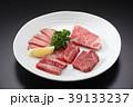 食べ物 肉 牛肉 焼肉 食材 牛 肉盛り合わせ 高級肉  39133237
