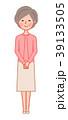 女性 人物 シニアのイラスト 39133505