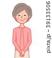 女性 人物 シニアのイラスト 39133506