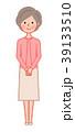 女性 人物 シニアのイラスト 39133510