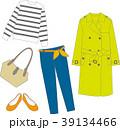 コーディネート 春 ファッションのイラスト 39134466