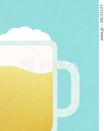 背景-ビール 39135125
