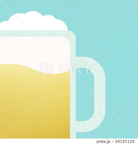 背景-ビール 39135126