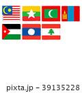 国旗 手描き クレヨンタッチ セット 39135228