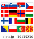 国旗 手描き クレヨンタッチ セット 39135230