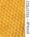 Yellow honeycomb texture background 39137822