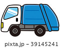 ゴミ収集車 収集車 収集のイラスト 39145241