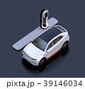 自動運転 急速充電 自動車のイラスト 39146034