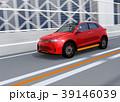 高速道路 自動運転 自動車のイラスト 39146039