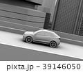 高速道路に走行してい電動SUVのクレイレンダリングイメージ 39146050