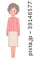 女性 人物 シニアのイラスト 39146577
