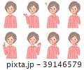 女性 人物 シニアのイラスト 39146579