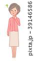 女性 人物 シニアのイラスト 39146586