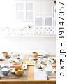 キッチンの和朝食 39147057