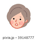 女性 人物 シニアのイラスト 39148777