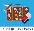ベクトル スーツケース トランクのイラスト 39149853