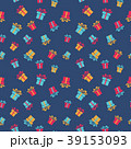 プレゼント パターン 柄のイラスト 39153093