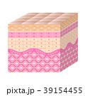 肌 断面図 皮膚細胞のイラスト 39154455