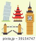Euro trip tourism travel design famous building 39154747