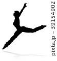ダンス 舞う 舞踊のイラスト 39154902