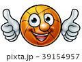 バスケ バスケットボール キャラクターのイラスト 39154957