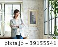 ビジネスウーマン オフィス オフィスカジュアルの写真 39155541