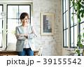 ビジネスウーマン オフィス オフィスカジュアルの写真 39155542