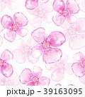 背景 花 柄のイラスト 39163095