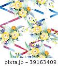 花 花束 バラのイラスト 39163409
