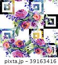 花 花束 水彩画のイラスト 39163416