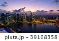 シンガポール・マリーナベイの夜景 39168358