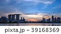 シンガポール中心地の夕景 39168369