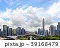 中国・深センの高層ビル群の風景 39168479