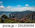 ビクトリアピークから望む香港の風景 日中 39169098