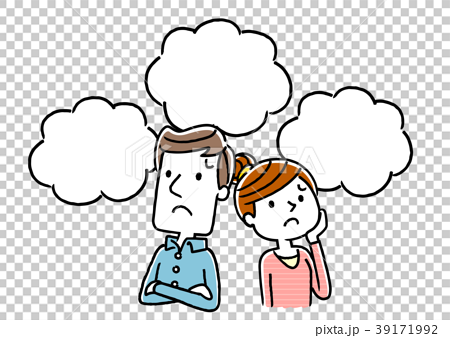 夫婦:不安、心配、将来 39171992