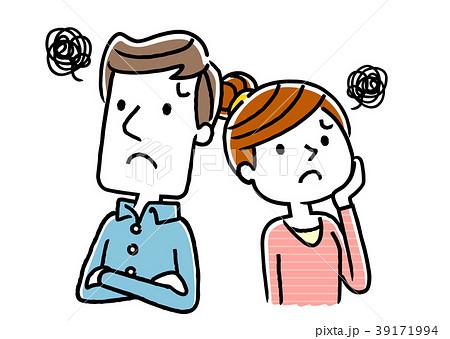夫婦:不安、心配、将来 39171994