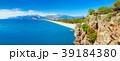 Sunny summer day with blue sky in Antalya, Turkey 39184380