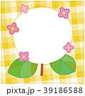 アジサイ フレーム 植物のイラスト 39186588