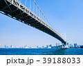 レインボーブリッジ 橋 東京の写真 39188033