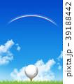 ゴルフ ゴルフボール スポーツのイラスト 39188442