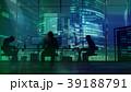 人影 影 シルエットのイラスト 39188791