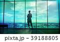 人影 影 シルエットのイラスト 39188805
