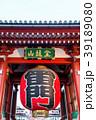 浅草寺 雷門 門の写真 39189080