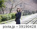女性 京都 春の写真 39190428
