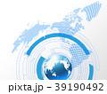 ビジネス グローバル 地球のイラスト 39190492