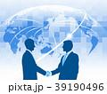 ビジネスマン ビジネス グローバルのイラスト 39190496