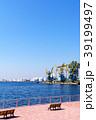 クレーン 海 ガントリークレーンの写真 39199497