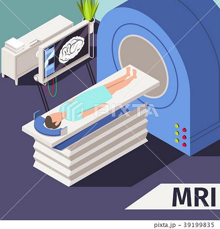 Medicine concept MRI scan and diagnostics Patient 39199835