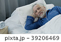 Retired man waking up active and full of energy 39206469